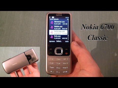 Nokia 6700 Classic - Review español (ringtones, wallpapers, camera...) + DOWNLOAD LINK