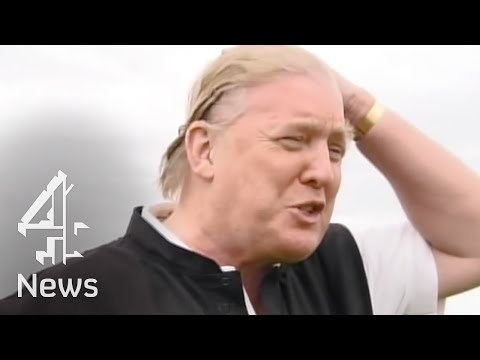 Donald Trump interview on his golf course & hair | Channel 4 News