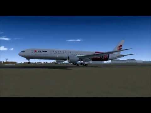 Air China CA933 777-300ER B-2047 Beijing (PEK) - Paris (CDG)