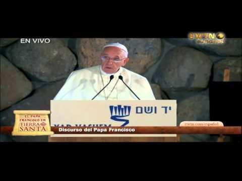 Discurso del Papa Francisco en el Yad Vashem