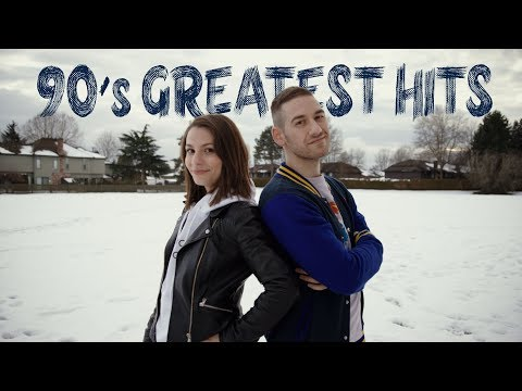 90's Greatest Hits In 4 Minutes MASHUP | Nikita Afonso, Stephen Scaccia, Randy C (VHS Music Video)