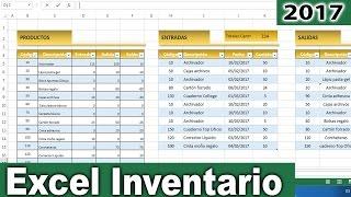 Gambar cover Excel - Cómo hacer un inventario de entradas y salidas en excel