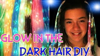 Download lagu DIY GLOW IN THE DARK HAIR IN 3 MINUTES MP3