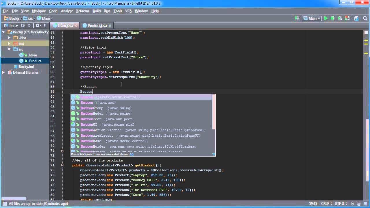 JavaFX Java GUI Tutorial - 19 - Editable Tables - YouTube