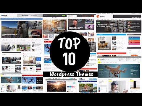 Top 10 wordpress Blog/Magazine Themes for AdSense | Free Premium themes