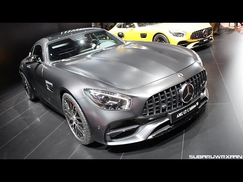 2018 Mercedes-AMG GT C Edition 50 Close-Up Look!