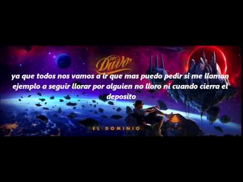 MC DAVO - - WELCOME MI MUNDO - (LETRA)