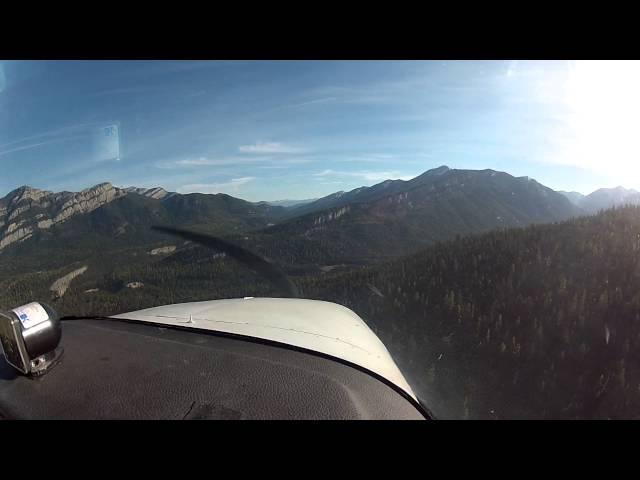 Meadow Creek Airstrip Montana   OS1 10 7 2012