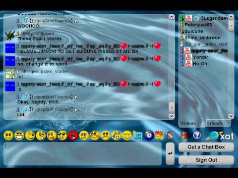 Random XAT Chat Room Argument Part 1