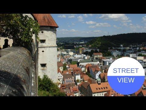 STREET VIEW Auf Schloss Hellenstein In Heidenheim In GERMANY