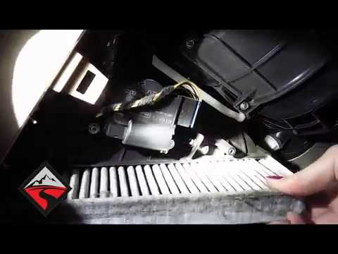 How To Remove The Cabin Air Filter 04 10 VW Touareg
