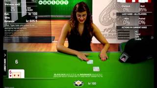 Live Dealer Blackjack - Common Draw Blackjack - NetEnt