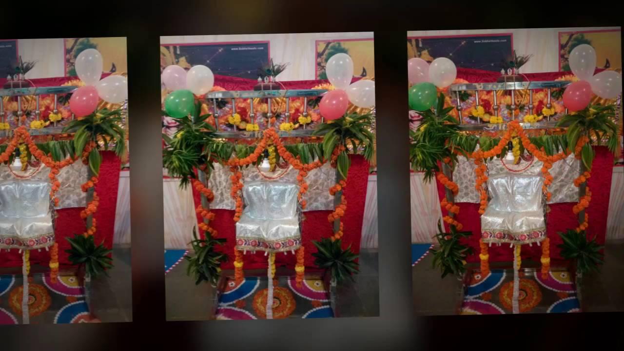 Krishna Janmashtami Decoration Celebration At Home Youtube