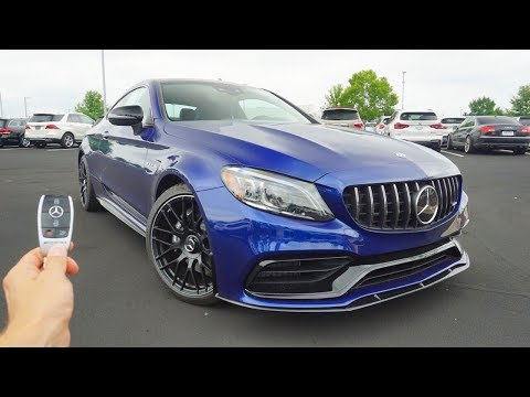 2019 Mercedes Benz AMG C63 Coupe: Start Up, Exhaust, Test Drive and Review