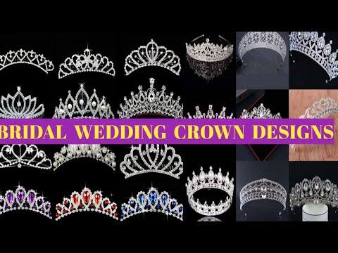 Bridal Wedding Crown Designs