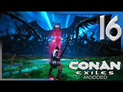 JHEBBAL SAG AND THE MIDNIGHT GROVE! | Modded Conan Exiles Gameplay/Let's Play E16