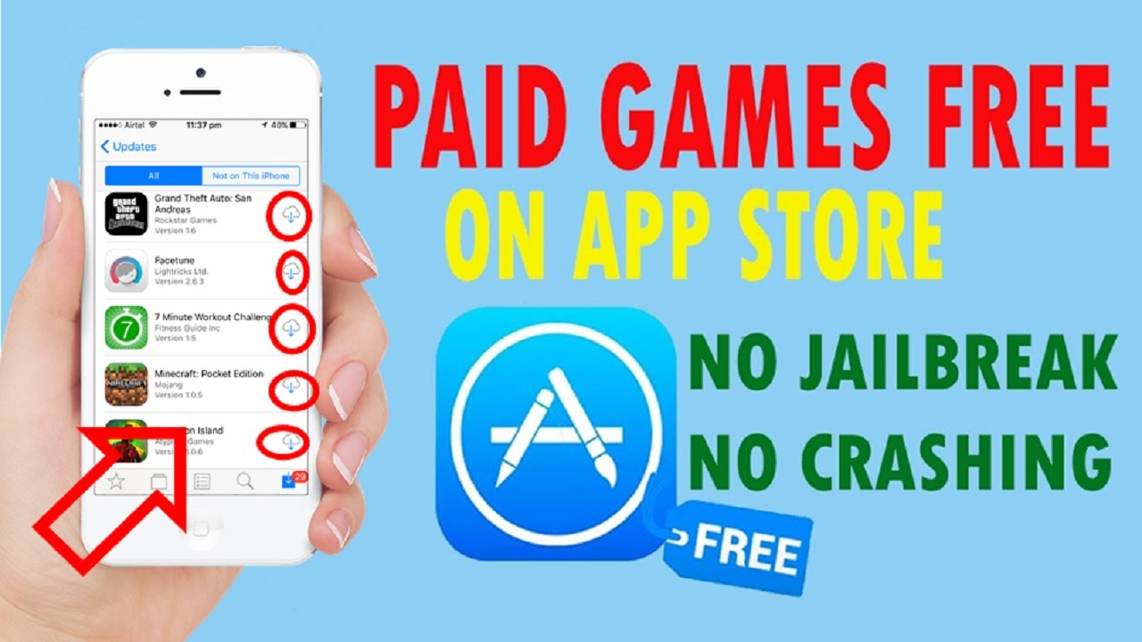 Download Paid Apple Games For Free From App Store Any