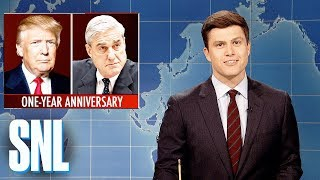 Weekend Update on One-Year Anniversary of Robert Mueller Investigation - SNL