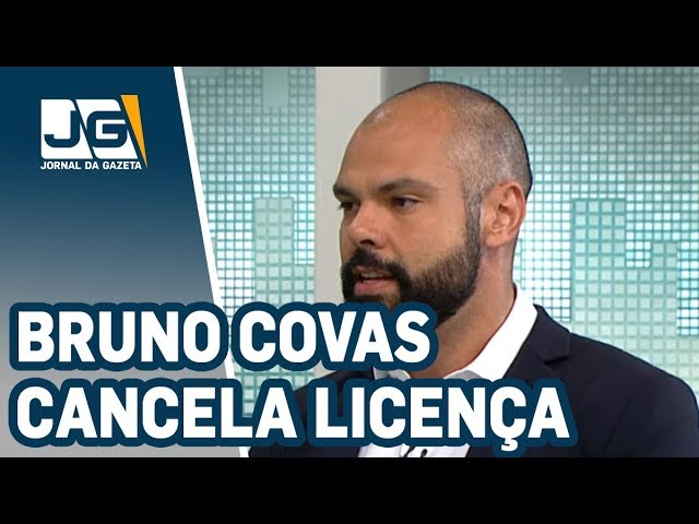 Após chuvas, Bruno Covas cancela licença