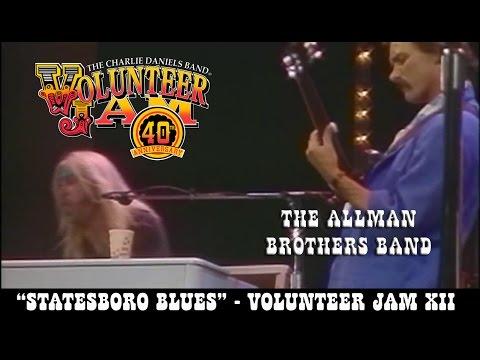 The Allman Brothers Band - Statesboro Blues - Volunteer Jam XII mp3
