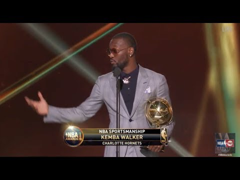 Kemba Walker wins the 2017 NBA Sportsmanship Award | NBA on TNT