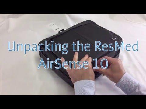 unpacking-the-resmed-airsense-10-cpap-machine