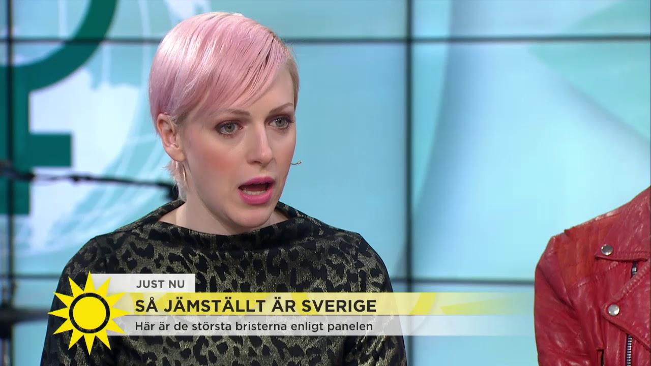 Cissi Wallin Newsflash Det Star Inte I Pannan Att Nagon Ar Valdtaktsman Nyhetsmorgo