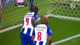 Goal | Golo Aboubakar: FC Porto (2)-0 D. Chaves (Liga 18/19 #1)
