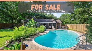 For Sale | 2 Bedroom | 2 Bath | 2506 Cecil Drive