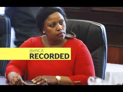 Dudu Myeni back in court - eNCA