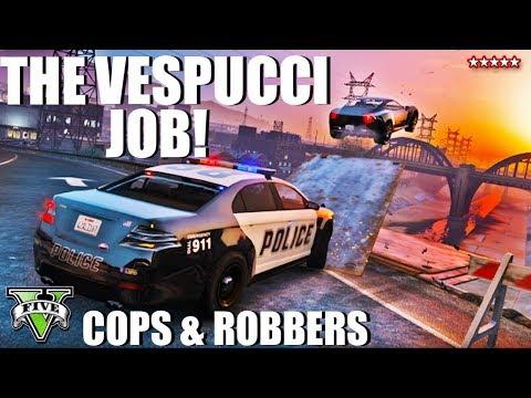 THE VESPUCCI JOB! New Adversary Mode (GTA 5 Online)