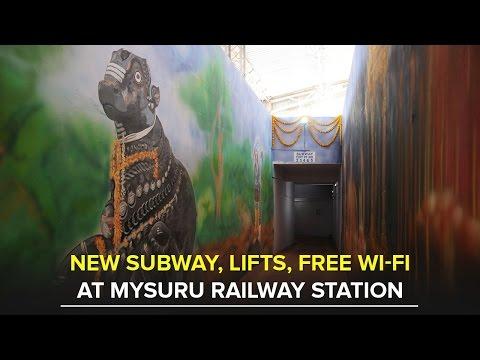 New Subway, lifts, free Wi-Fi services at Mysuru Railway Station - Star of Mysore