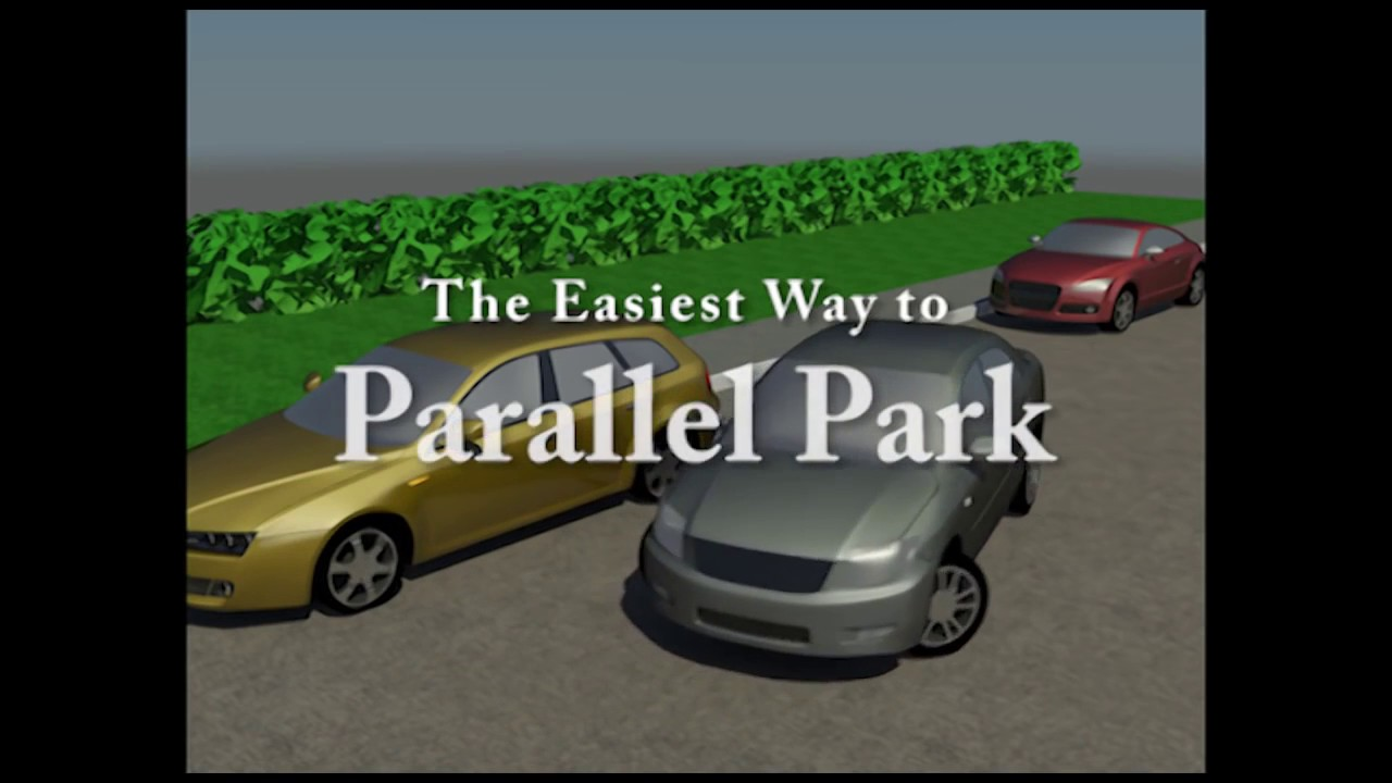 3 Steps Parallel Parking Youtube