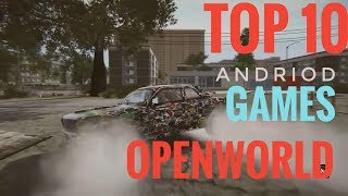 Top 10 Open World Games on Andriod