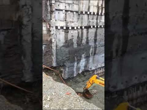 Concrete Retaining Wall failure