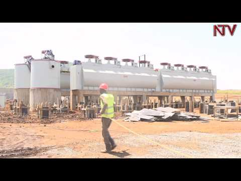 Chinese investors constructing Uganda's 5th Cement factory