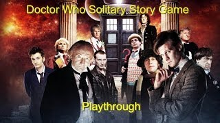 Doctor Who Solitaire Story Game Plathrough