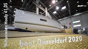 boot Düsseldorf 2020: Weltpremiere Moody 41 Deckssalon