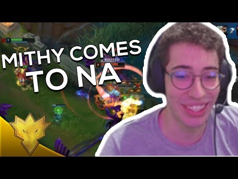 TSM Mithy COMES TO NA - League of Legends Stream Highlights