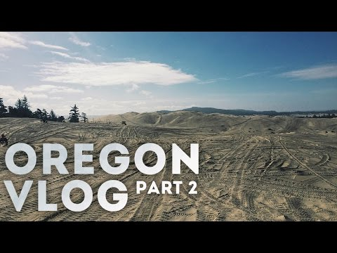 OREGON VLOG PT 2 | Exploring SAND DUNES and Tillamook