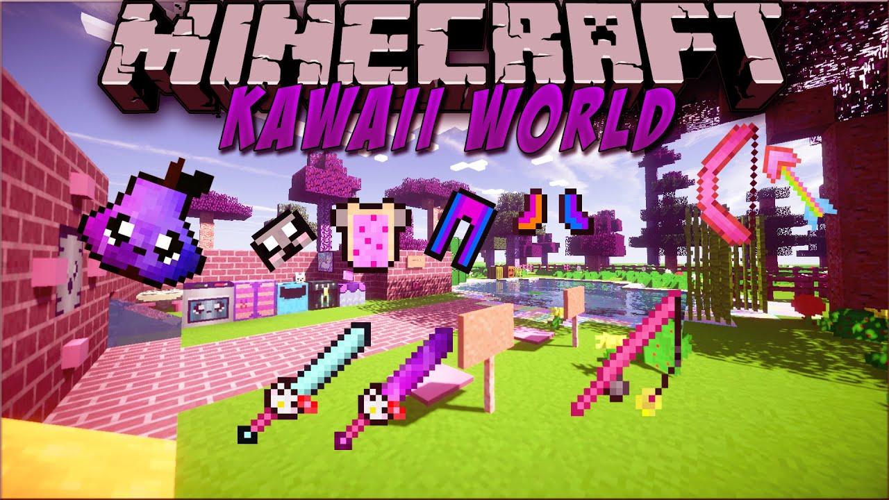 Kawaii World Minecraft Resource Pack 18 Showcase