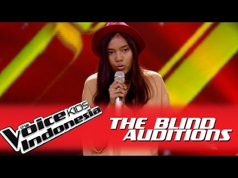 """Theresia """"Hurricane"""" I The Blind Auditions I The Voice Kids Indonesia GlobalTV 2016"""