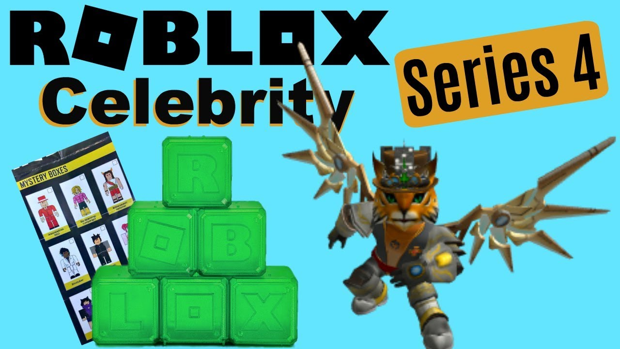 Roblox Series 4 - Roblox Toys Checklist Celebrity Series 4