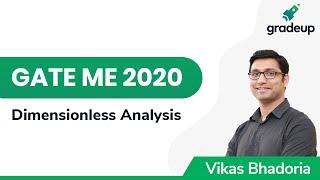 Dimensionless Analysis | GATE ME 2020 | Fluid Mechanics | Gradeup