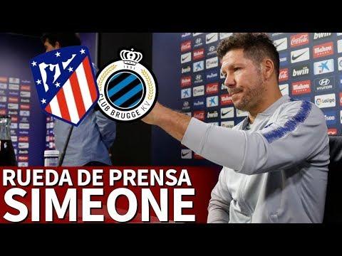 Atlético vs. Brujas   Rueda de prensa previa de Simeone   Diario AS