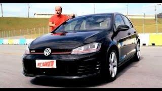 Esportivo em pele de hatchback, Vrum testa o Golf GTi