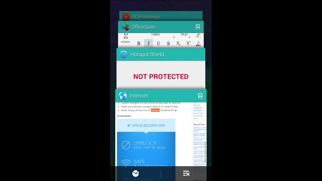 Hotspot shield vpn apk full version free