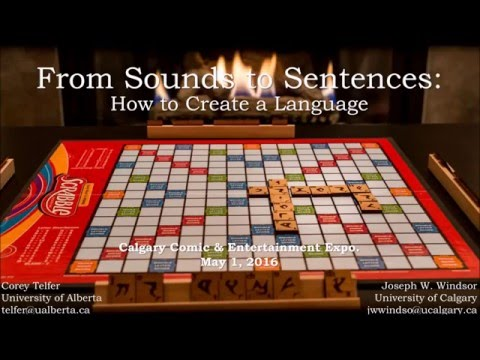From Sounds to Sentences: How to Invent a Language
