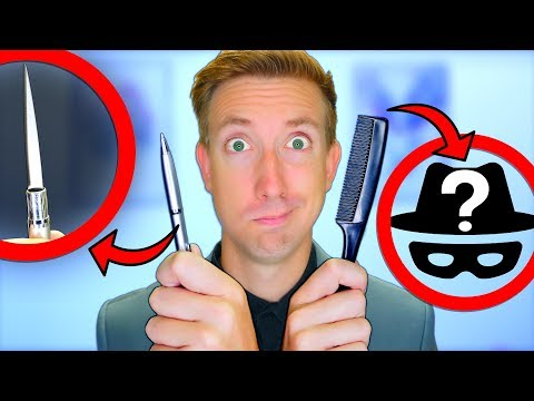 SPY GADGETS in REAL LIFE 🔍 5 Kingsman Items vs Fruit Ninja