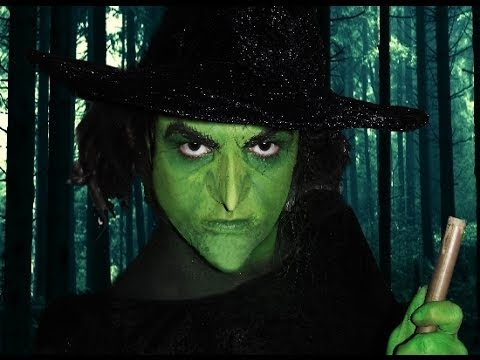 wicked witch of the west wizard of oz makeup tutorial